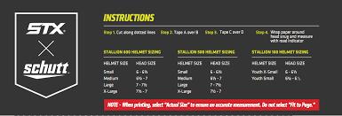 Stx Varsity Stallion 650 Lacrosse Helmet