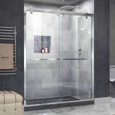 Shower Design : Beautiful Practical Frameless Shower Doors Home ...
