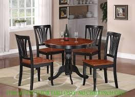 36 Round Dining Table With Leaf Antique Round Dinette Kitchen Table In Black Cherry 36 Diameter