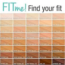 Maybelline Fit Me Foundation Shades Chart Amazon Com Maybelline Makeup Fit Me Matte Poreless