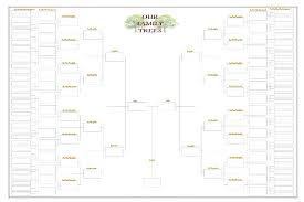 Genealogy Chart Template Free Family Tree Templates Editable Template Word 4