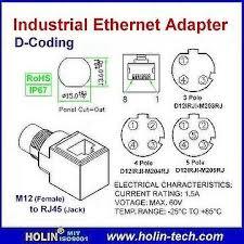 taiwan industrial ethernet adaptor m12 female to rj45 jack d industrial ethernet adaptor m12 female to rj45