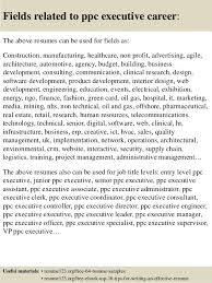 ... 16. Fields related to ppc executive ...