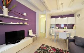 Purple And Grey Living Room Purple Living Room The Idea Of Color Combinations Between Wall