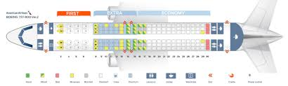 Seat Map Boeing 737 800 American Airlines Best Seats In The