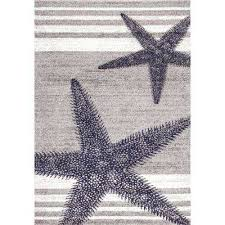 thomas paul starfish grey 8 ft x 12 ft area rug