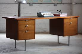 popular of modern desk with drawers classic yet timeless mid century modern desk home decorations ideas