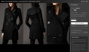 even though burberry s official web site adjusted in the beginning of the year major department s have not on