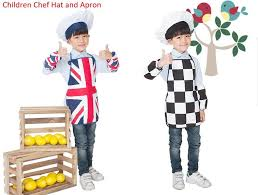 hobbies for kids. creative hobbies for children chef hat and apron kids dress up set, party supplies, british style set childrens aprons mens from