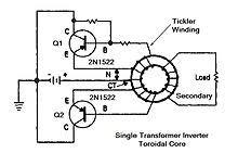 electronics transformer design wikibooks open books for an open one transformer saturable inverter