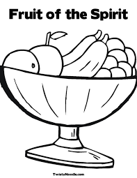 Small Picture Fruit Of The Spirit Coloring Pages Free Awesome Fruit Of The