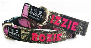 monogrammed dog collars. Click Here To View All Camo Collars At Once Monogrammed Dog