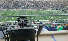 Notre Dame Stadium Seating Chart Garth Brooks Notre Dame Stadium Level 1 Field Level Home Of Notre Dame