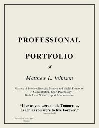 coaching portfolio. english portfolio cover letter sample. Resume Example.