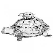"""<b>Доза</b> """"<b>Черепаха</b>"""" 26,5 см из хрусталя <b>Crystal Bohemia</b> купить в ..."""