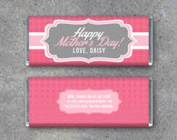 mothers day candy bar wrapper template - Google Search | Candy bar ...