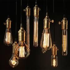 vintage style kitchen lighting. Home Lighting, Extraordinary Filament Light Bulbs Vintage Retro Antique Industrial Style Lights For Kitchen Lighting