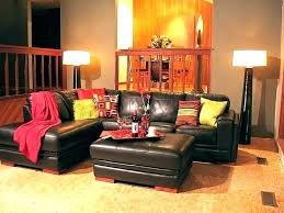 burnt orange living room ideas chocolate and blue decor grey red brown rugs rooms with b
