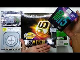 intel Core i5 9400 <b>GIGABYTE B365M DS3H</b> DDR4 2666Mhz WD M ...