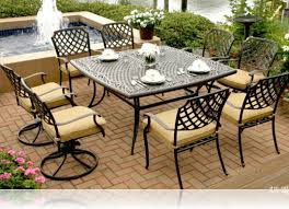 patio furniture decorating ideas. Gallery Of Wicker Patio Furniture Sets Clearance Inspirations Outdoor 2017 Comfortable Modern Home Dining Area Decorating Ideas With Black Rectangle Table D