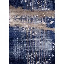 momeni monterey mo 02 blue machine made area rug
