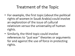 writing an extended essay in human rights ppt video online treatment of the topic