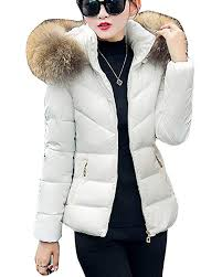 womens short coat padded down jacket warm winter quilted thicker outerwear overcoat