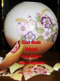 original and copy hurricane shades glass shade replacement and hand painting