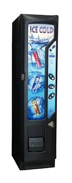 Lolly Vending Machine Mesmerizing Chillout Slimline Soft Drinks Vending Machine Closed Fronted