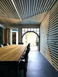 wood slat wall. Wood Slat Wall Wooden Slats Design Idea Create A Feature Divider