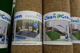 foss manufacturing clean green 6 x 9 indoor outdoor area rug