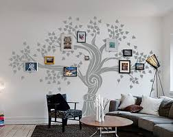 family tree wall decal with frames tree wall decal custom wall art large wall decal office on wall art decals family tree with wall decal awesome family tree wall decal with frames family