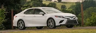 2018 Toyota Camry Engine Specs And Gas Mileage