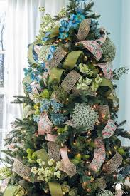 how to decorate a tree with whimsical ribbon