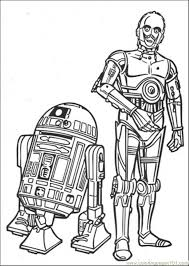 Small Picture The Robots Coloring Page Free Star Wars Coloring Pages