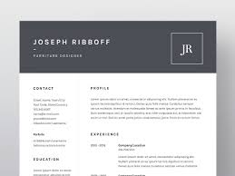 Architect Resume Template Joseph Ribboff ResumeCV Template Resume Templates Creative Market 24