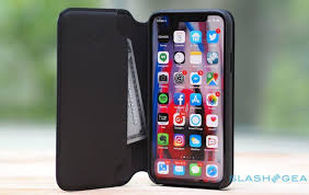apple s iphone x leather folio case is really slick