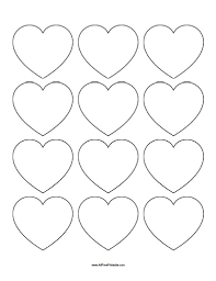 Microsoft Word Hearts Heart Template For Microsoft Word Small Hearts Template