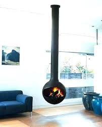 suspended fireplace suspended fireplace suspended wood burning fireplace hanging wood fireplace fireplace hanging in mid air