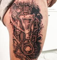 50 3d Biomechanical Tattoos Designs For Men 2019 Tattoo Ideas