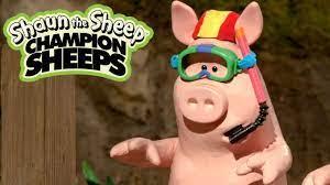 Bơi | Championsheeps | Những Chú Cừu Thông Minh [Shaun the Sheep] - YouTube