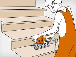 Aufkleber und etiketten lassen sich oftmals nur schwer entfernen und stören die optik. Holztreppe Renovieren Anleitung In 6 Schritten Obi