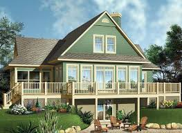 traditional country coastal house plan 65494 with 3 beds 2 baths elevation