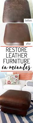 Leather Sofa Makeover Best 25 Leather Couch Fix Ideas On Pinterest Repair Leather