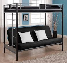 Loft Bed Couch Underneath Total Fab Metal Wood Loft Beds With Sofa  Underneath Also Great Bed