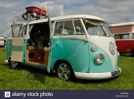 a split screen vw cer van with open barn doors wymeswold leicestershire