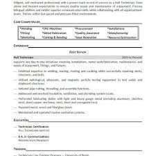 Welding Resumes Examples Examples Of Resumes