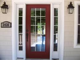 15 panel glass door with sidelights two
