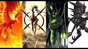 Top 10 Thủ Lĩnh Pokemon huyền thoại trong Thế Giới Pokemon - YouTube