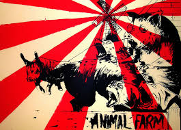 new media new asia stressed but well dressed absolute power corrupts absolutely animal farm cover 2